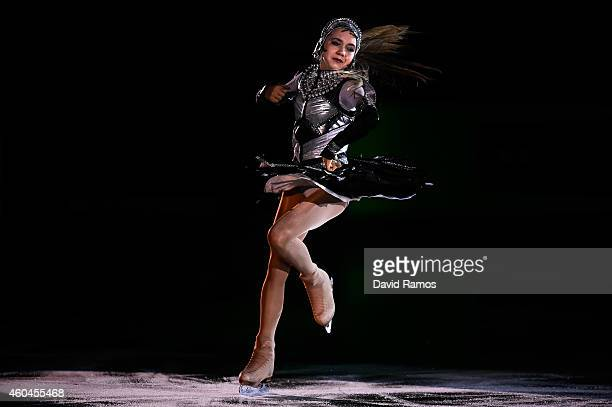 Elena Radionova of Russia performs during day four of the ISU Grand Prix of Figure Skating Final 2014/2015 at Barcelona International Convention...