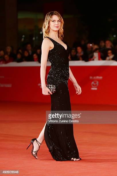 Elena Radonicich attends a red carpet for 'Alaska' during the 10th Rome Film Fest on October 23 2015 in Rome Italy