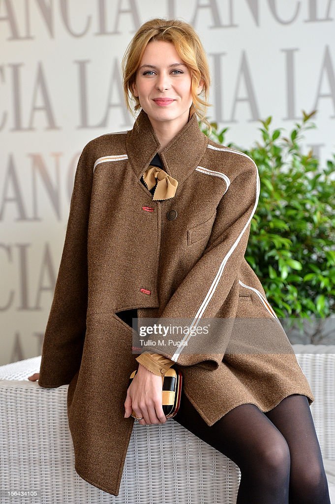 Elena Radonicich attends the 7th Rome Film Festival at Lancia Cafe on November 15, 2012 in Rome, Italy.