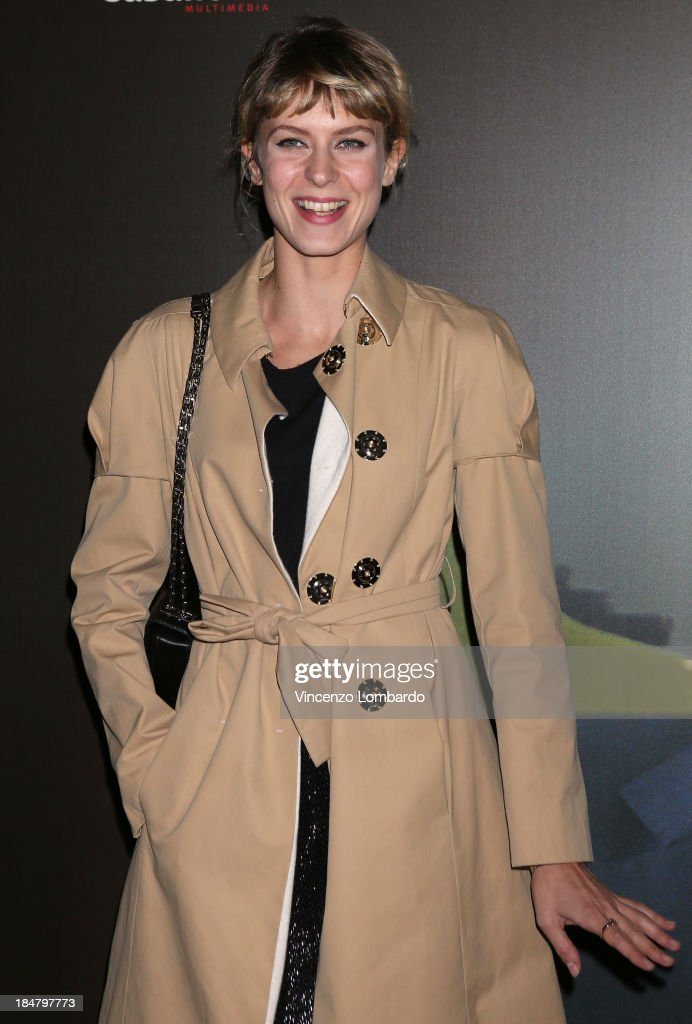 <a gi-track='captionPersonalityLinkClicked' href=/galleries/search?phrase=Elena+Radonicich&family=editorial&specificpeople=9098164 ng-click='$event.stopPropagation()'>Elena Radonicich</a> attends the preview of film 'Adriano Olivetti. La forza di un sogno' on October 16, 2013 in Milan, Italy.