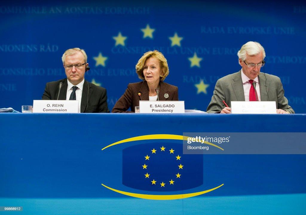 EU Ecofin and Eurogroup Ministers Meet