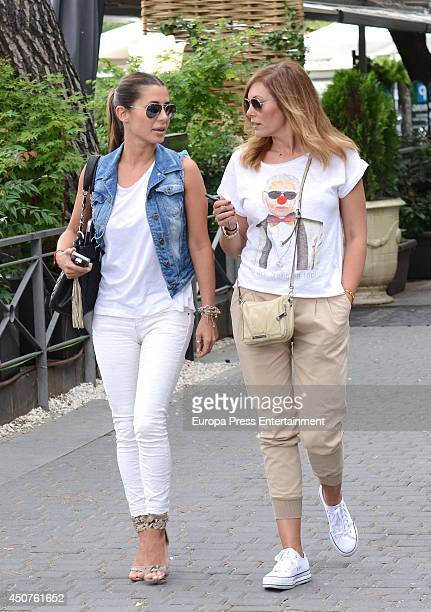 Elena Tablada and Raquel Rodriguez are seen on June 10 2014 in Madrid Spain