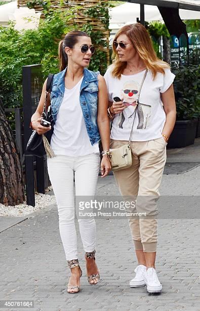 Elena Tablada and Raquel Rodriguez are seen on June 10 2014 in Madrid Spain