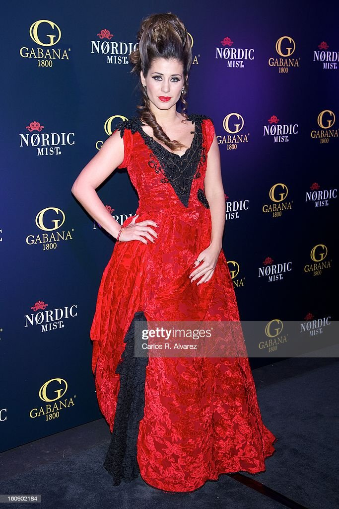 Elena Tablada attends 'Carnaval 2013' party at Gabana Club on February 7, 2013 in Madrid, Spain.