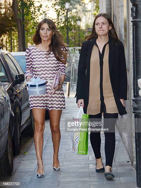 Elena Tablada attends the babyshower party of Silvia Casas on April 18 2013 in Madrid Spain