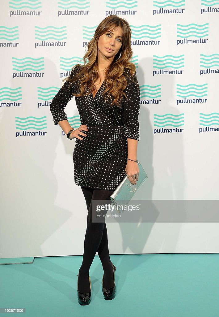 Elena Tablada attends the Blue Night by Pullmantur at Neptuno Palace on February 28, 2013 in Madrid, Spain.