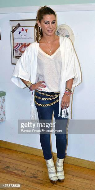 Elena Tablada attends the presetantion of ETNA Charity Bracelet on December 16 2013 in Madrid Spain