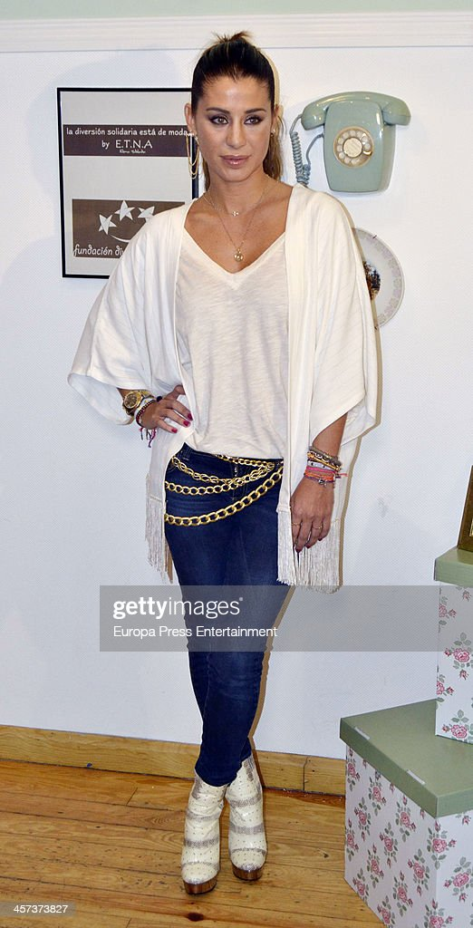 Elena Tablada attends the presetantion of ETNA Charity Bracelet on December 16, 2013 in Madrid, Spain.