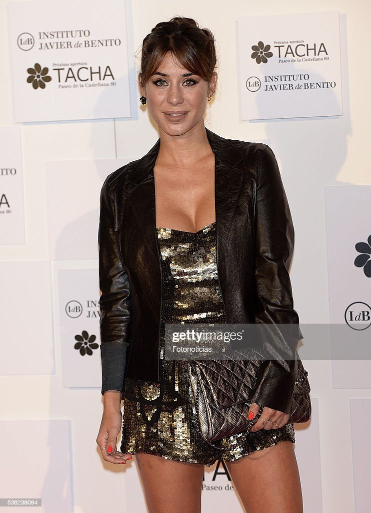 Elena Tablada attends the Tacha Beauty and Javier de Benito Institute party at the Palacio de Santa Coloma on May 31, 2016 in Madrid, Spain.