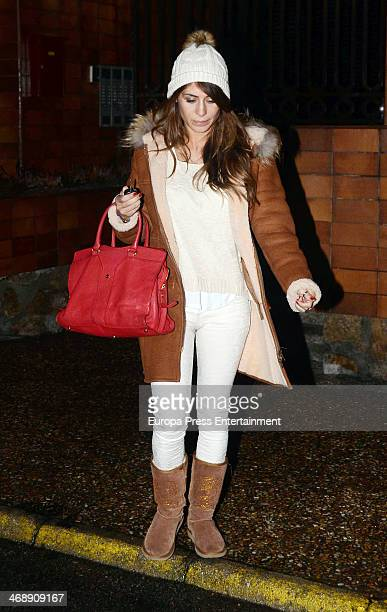 Elena Tablada is seen on February 11 2014 in Madrid Spain