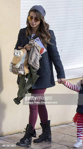 Elena Tablada is seen on January 7 2014 in Madrid Spain