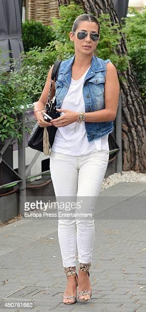 Elena Tablada is seen on June 10 2014 in Madrid Spain