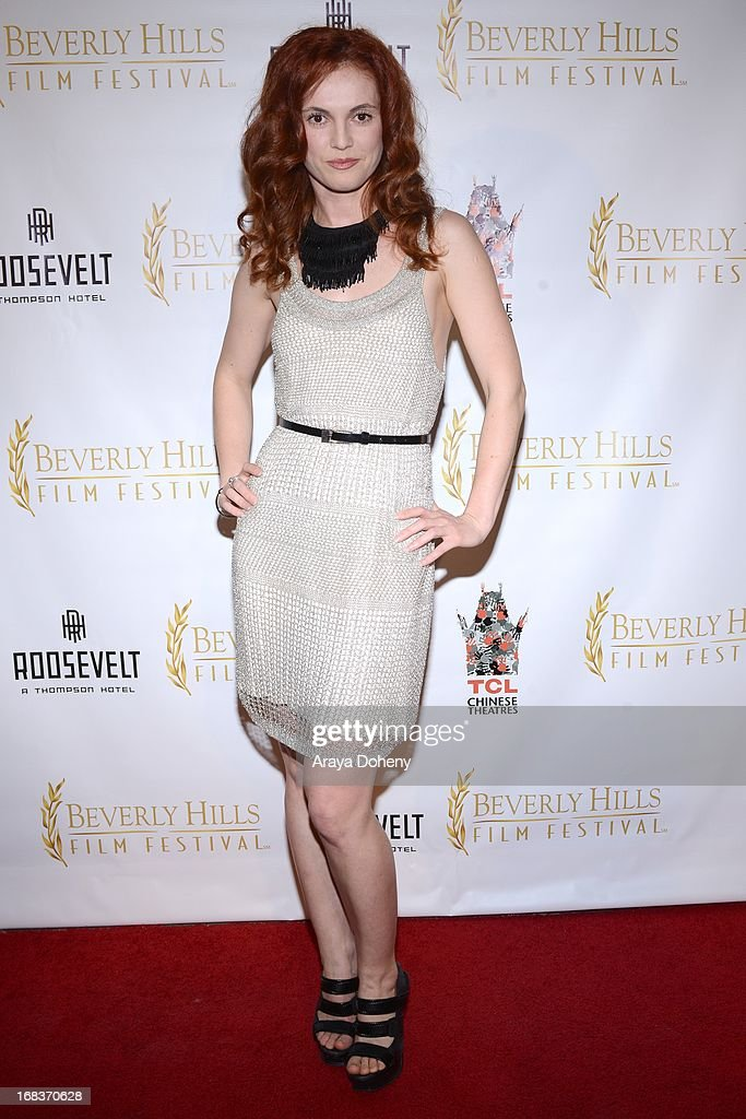 Elena Talan attends the 13th Annual International Beverly Hills Film Festival - Opening Night Gala at TCL Chinese Theatre on May 8, 2013 in Hollywood, California.