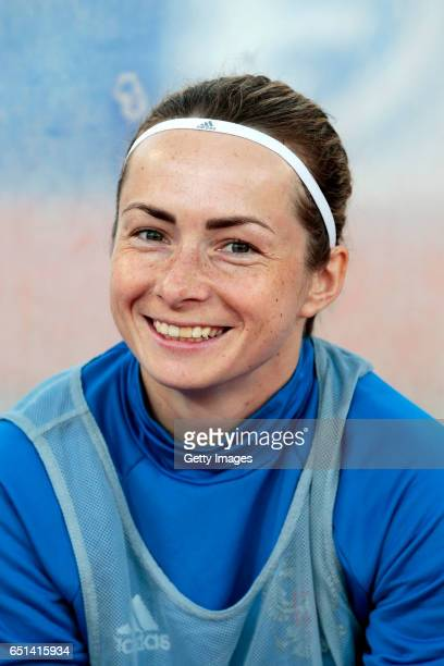 Elena Terekhova of Russia during the Algarve Cup Tournament Match between Sweden W and Russia W on March 8 2017 in Albufeira Portugal