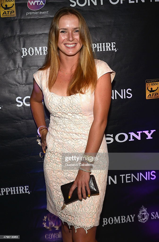 <a gi-track='captionPersonalityLinkClicked' href=/galleries/search?phrase=Elena+Vesnina&family=editorial&specificpeople=552598 ng-click='$event.stopPropagation()'>Elena Vesnina</a> of Russia attends the players party held at Cavalli Miami on March 18, 2014 in Miami Beach, Florida.