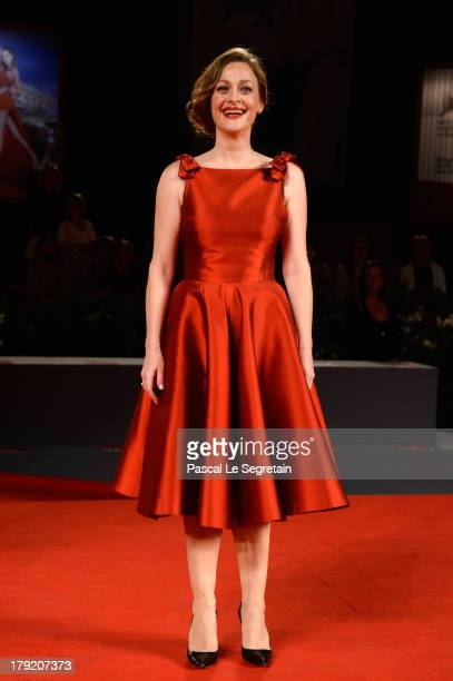 Eleni Roussinou attends 'Miss Violence' Premiere during the 70th Venice International Film Festival at Palazzo Del Casino on September 1 2013 in...