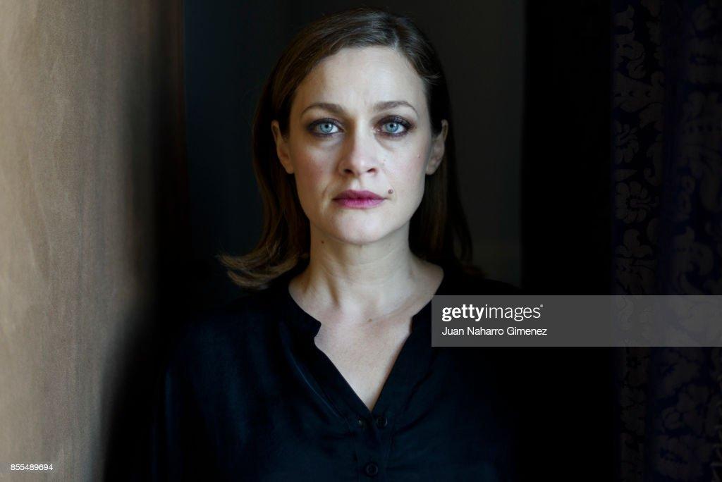 Eleni Roussinou poses for a portrait session during 65th San Sebastian Film Festival at Maria Cristina Hotel on September 26, 2017 in San Sebastian, Spain