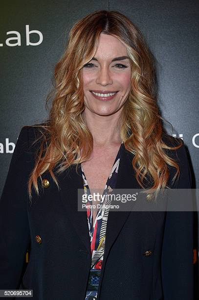 Elenoire Casalegno attends at Audi City Lab at Torre Velasca on April 12 2016 in Milan Italy