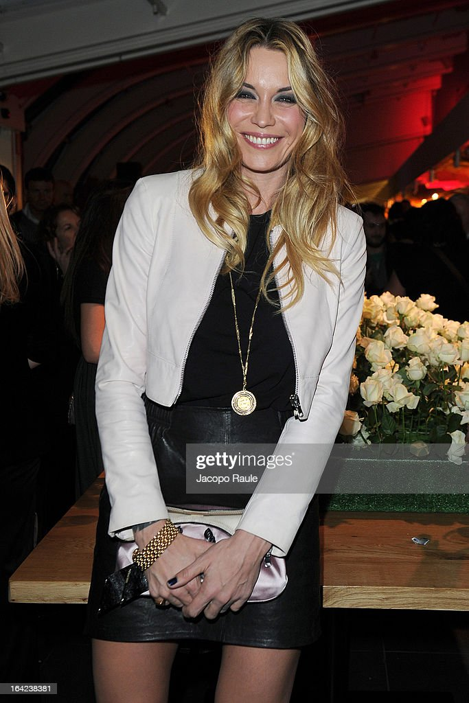 Elenoire Casalegno attends Lacoste 80th Anniversary cocktail party at La Rinascente on March 21, 2013 in Milan, Italy.