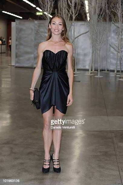 Eleonora Abbagnato attends the 2010 Convivio held at Fiera Milano City on June 10 2010 in Milan Italy