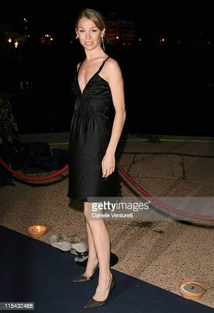 Eleonora Abbagnato during 2007 Cannes Film Festival Cocktail Party Hosted by Alberta Ferretti in Cannes France