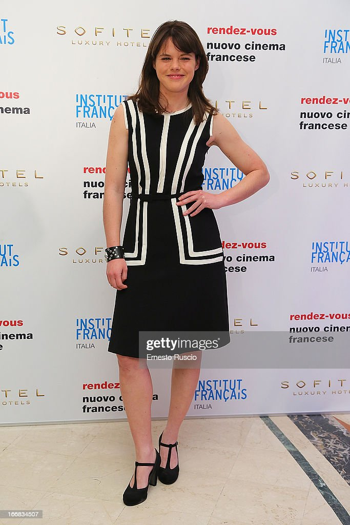 Eleonora Bolla attends the Rendez-Vous Film Festival opening night at Hotel Sofitel on April 17, 2013 in Rome, Italy.