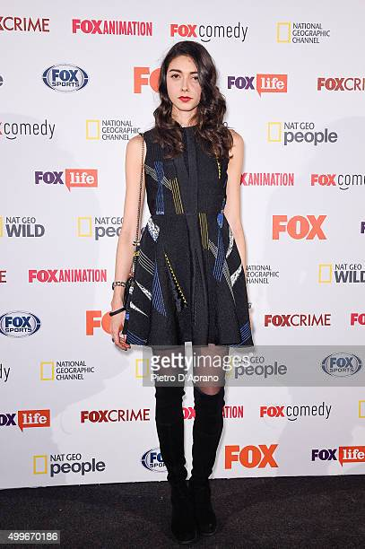 Eleonora Branca attends the Fox Channels Party at Palazzo Del Ghiaccio on December 2 2015 in Milan Italy