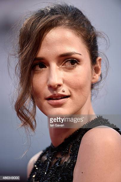 Eleonora Carisi attends a premiere for 'Spotlight' during the 72nd Venice Film Festival at Sala Grande on September 3 2015 in Venice Italy