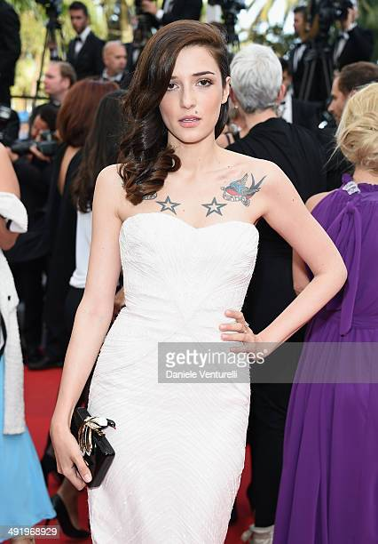 Eleonora Carisi attends 'The Homesman' Premiere at the 67th Annual Cannes Film Festival on May 18 2014 in Cannes France