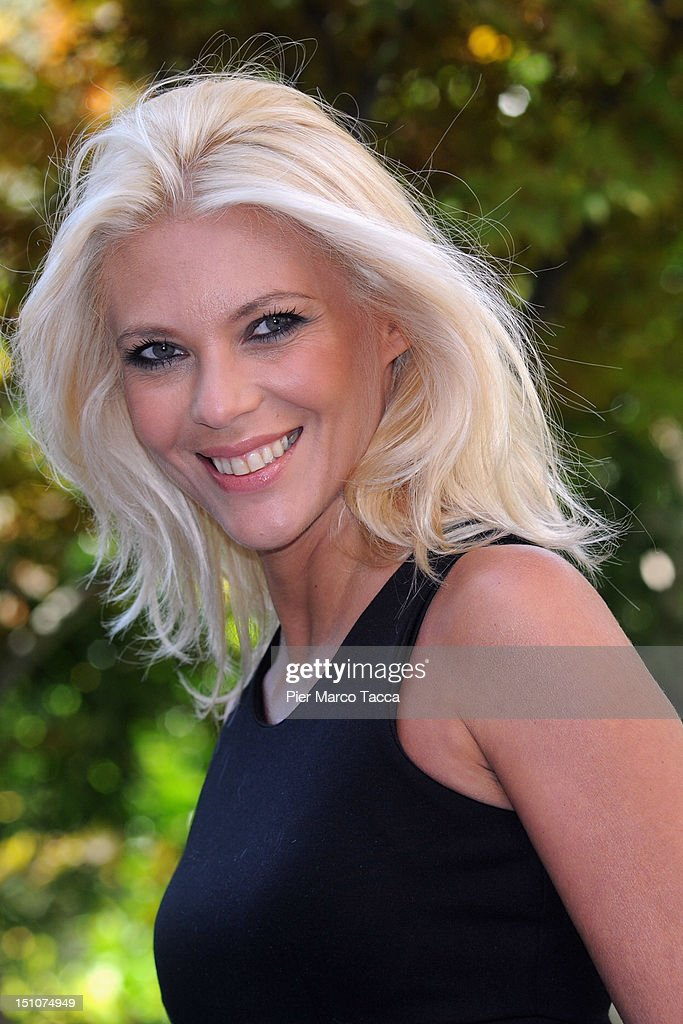 Eleonora Daniele attends RAI 1 TV programmes presentation at Hotel Westin Palace on August 31, 2012 in Milan, Italy.