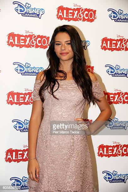 Eleonora Gaggero attends a photocall for 'Alex Co' on September 15 2016 in Milan Italy