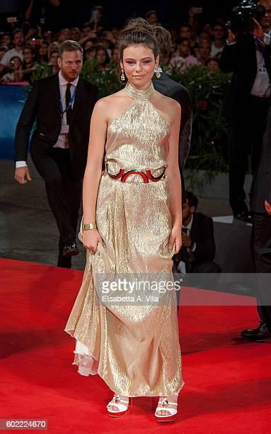 Eleonora Gaggero attends the premiere of 'The Magnificent Seven' during the 73rd Venice Film Festival at Sala Grande on September 10 2016 in Venice...
