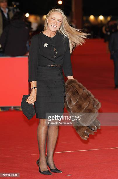 Eleonora Giorgi attends the 'Elizabeth The Golden Age' premiere during Day 2 of the 2nd Rome Film Festival on October 19 2007 in Rome Italy
