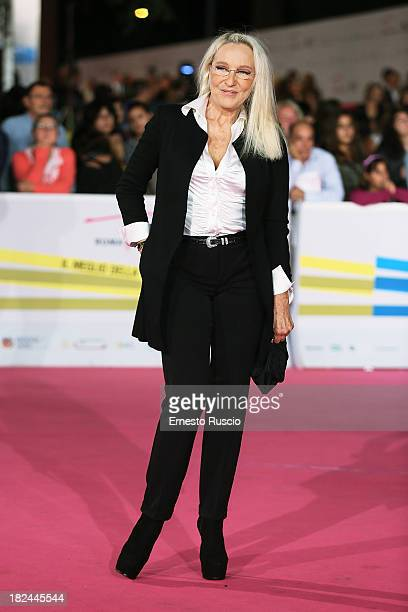 Eleonora Giorgi attends the Fiction Fest 2013 opening night at Auditorium Parco Della Mosica on September 29 2013 in Rome Italy