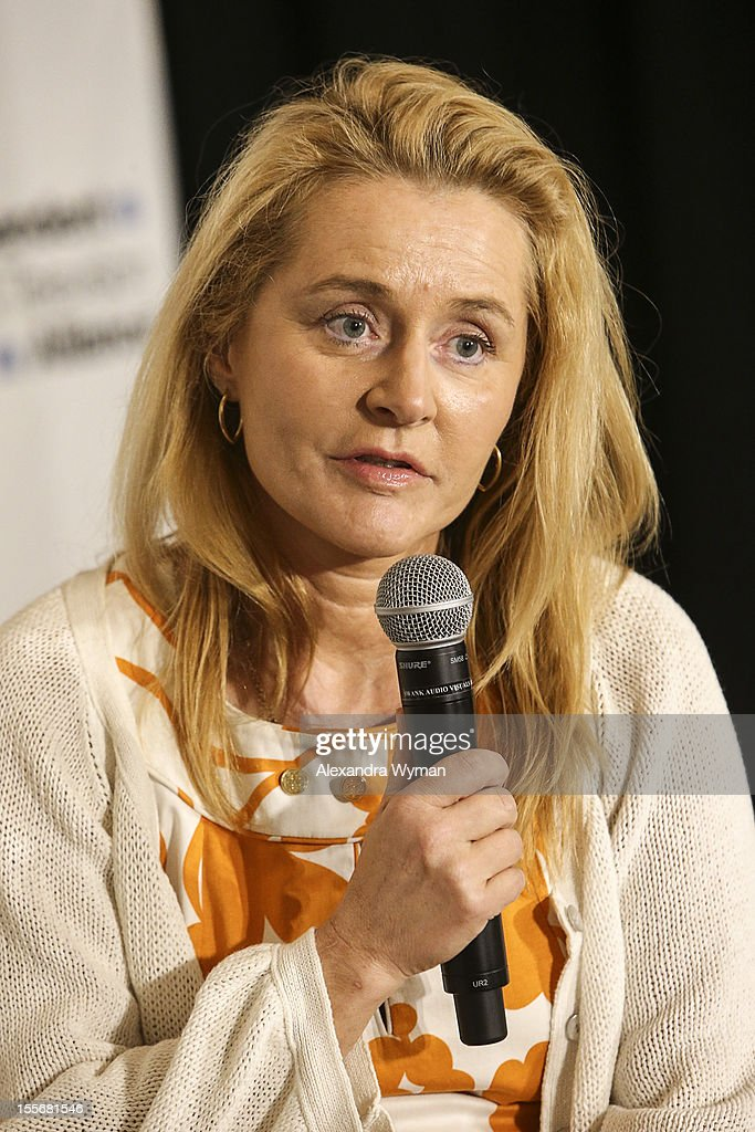 Eleonora Granata Jenkinson, Commissioner of the Russian Film Commission USA speaks at International Production Incentives at the Loews Santa Monica Beach Hotel on November 6, 2012 in Santa Monica, California.