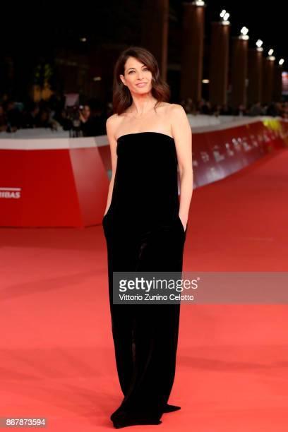 Eleonora Ivone walks a red carpet for 'Prendre La Large' during the 12th Rome Film Fest at Auditorium Parco Della Musica on October 29 2017 in Rome...