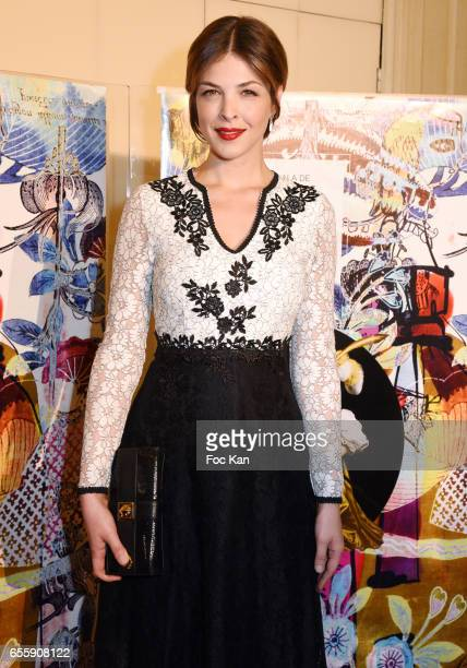 Eleonore Boccara attends 'Gala D'Enfance Majuscule 2017' Charity Gala At Salle Gaveau on March 20 2017 in Paris France