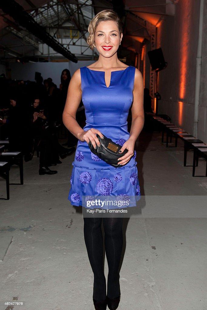 Antonio Ortega : Front Row - Paris Fashion Week - Haute Couture S/S 2015