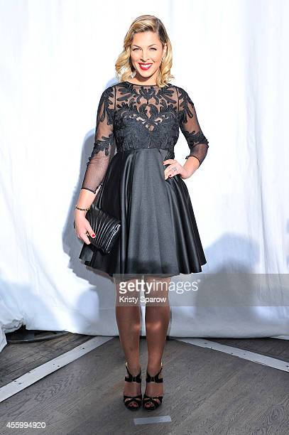 Eleonore Boccara attends the Christophe Guillarme show as part of Paris Fashion Week Womenswear Spring/Summer 2015 on September 23 2014 in Paris...