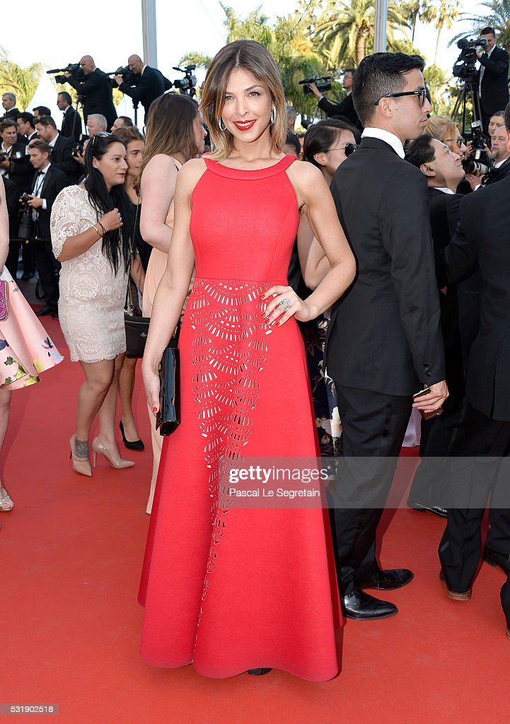 Eleonore Boccara attends the 'Julieta' premiere during the 69th annual Cannes Film Festival at the Palais des Festivals on May 17 2016 in Cannes...