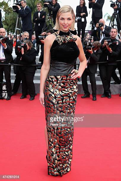Eleonore Boccara attends the Premiere of 'Dheepan' during the 68th annual Cannes Film Festival on May 21 2015 in Cannes France