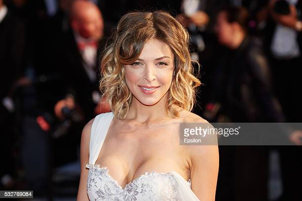Eleonore Boccara attends the screening of 'It's Only The End Of The World ' at the annual 69th Cannes Film Festival at Palais des Festivals on May 19...