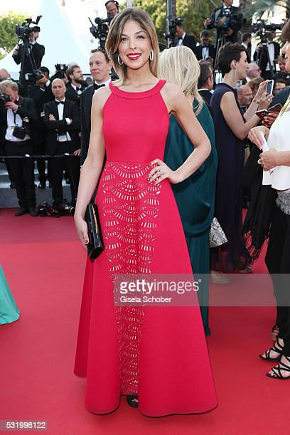 Eleonore Boccara attends the screening of 'Julieta' at the annual 69th Cannes Film Festival at Palais des Festivals on May 17 2016 in Cannes France