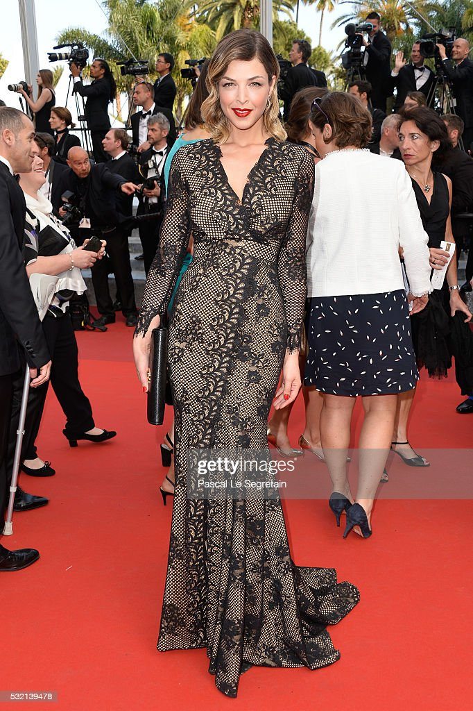 Eleonore Boccara attends 'The Unknown Girl ' Premiere during the 69th annual Cannes Film Festival at the Palais des Festivals on May 18 2016 in...