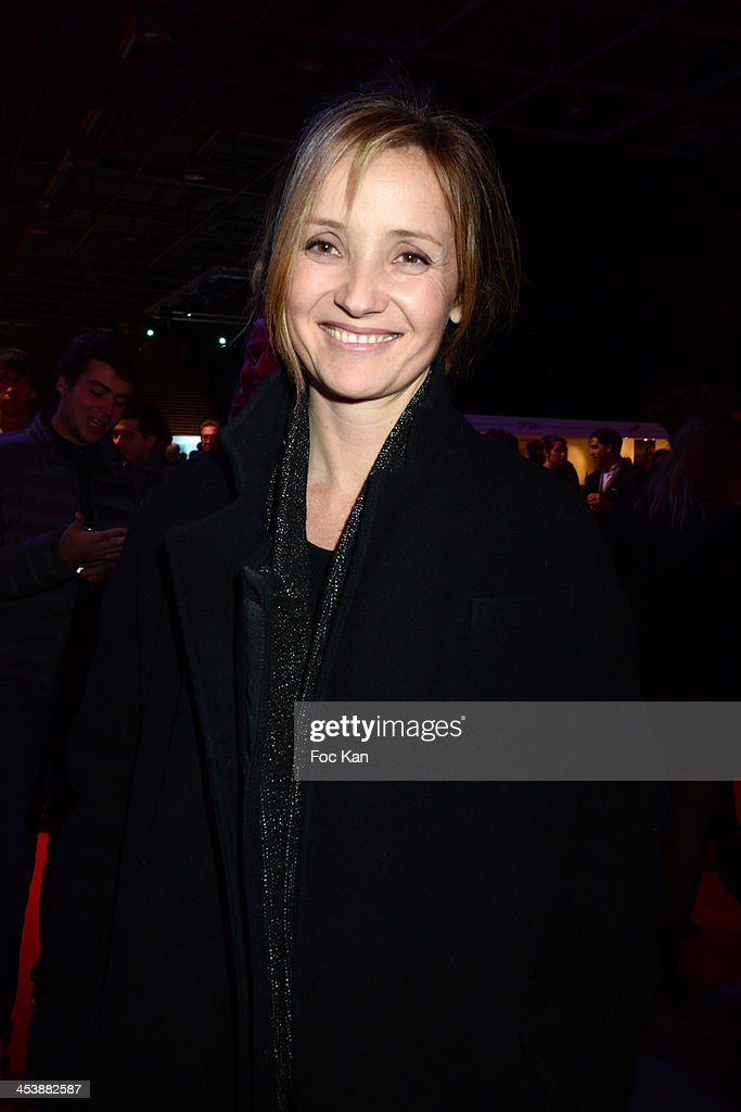 Eleonore de Galard attends a private concert in profit of 'Tout le monde Chante Contre Le Cancer' during the Gucci Paris Masters 2013 - Day 1 at Paris Nord Villepinte on December 5, 2013 in Paris, France.