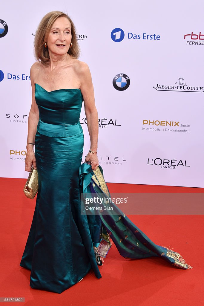 Eleonore Weisgerber attends the Lola - German Film Award (Deutscher Filmpreis) on May 27, 2016 in Berlin, Germany.