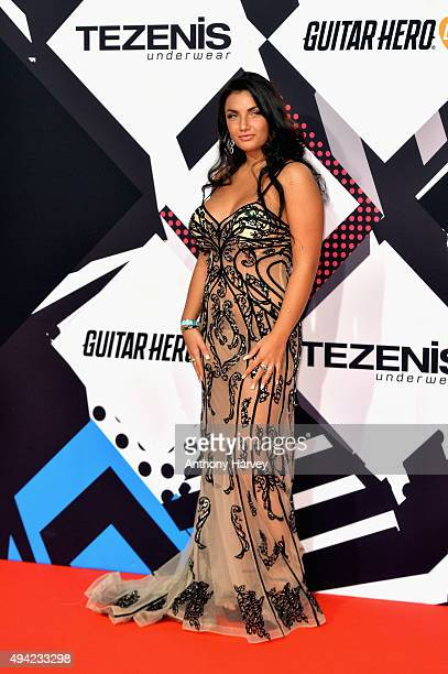 Elettra Lamborghini attends the MTV EMA's 2015 at the Mediolanum Forum on October 25 2015 in Milan Italy
