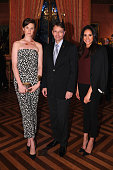 Elettra Rossellini Weidemann International CEO at Relais Chateaux JeanFrancois Ferret and Meghan Markle attend RELAIS CHATEAUX 60th Anniversary Guest...