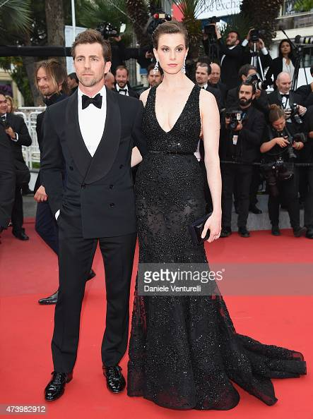 Elettra Rossellini Wiedemann and James Marshall attend the 'Sicario' Premiere during the 68th annual Cannes Film Festival on May 19 2015 in Cannes...