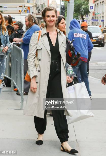 Elettra Rossellini Wiedemann is seen on June 07 2017 in New York City